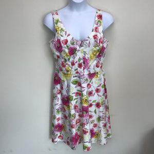 Scarlett Floral Print Dress